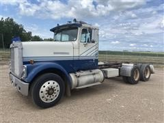 1986 International F9370 T/A Cab & Chassis