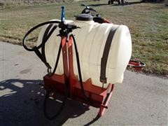 Fimco 16-55-3 PT 55 Gal Attached Sprayer