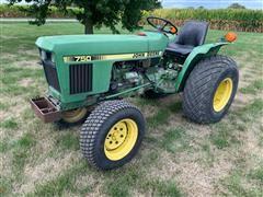 1981 John Deere 750 Compact Utility Tractor
