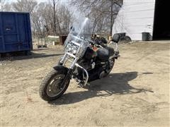 2009 Harley Davidson Fat Bob Motorcycle