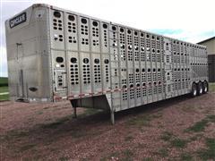 2004 Wilson PSDCL-402 Tri/A Livestock Trailer