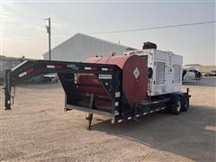 2010 Load Max KD300V 300KW Generator & T/A Trailer