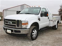 2008 Ford Super Duty F350 Dually Service Truck