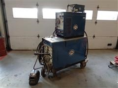 Miller 250 AC/DC HF Portable Gas Tungsten/Shielded Metal Arc Welder