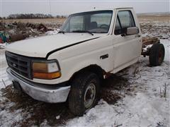 1992 Ford F250 Custom Cab & Chassis
