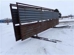 8.5'X24.5' Freestanding Windbreak