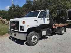 1992 GMC TopKick S/A Flatbed Truck