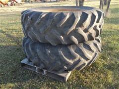Coop 18.4-34 Tires & Rims