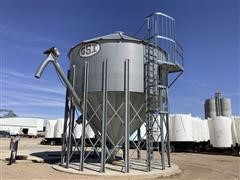 Buhler Grain Storage Bin