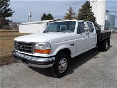 1997 Ford F350 XLT Flatbed Pickup