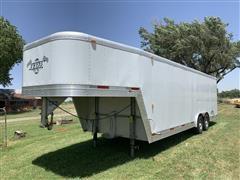 2000 Exiss Aluminum T/A Cargo Trailer