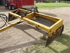 10' Wide 2-Wheel Speed Mover Box Scraper