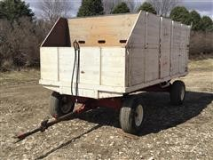 Heider 7739 Wooden Dump Wagon