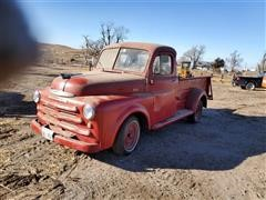 1949 Dodge 5-Window 2WD Pickup