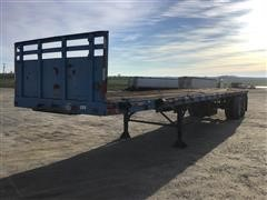 1975 Trailmobile T/A Flatbed Trailer