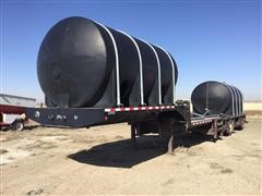 2002 B-B Spread-Axle Drop-Deck Sprayer Tender Trailer