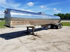 1968 Brenner Milk-King 5700 Gal T/A Tanker Trailer