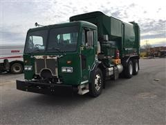 2010 Peterbilt Side Load T/A Garbage Truck