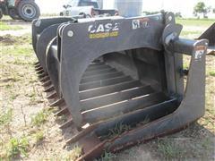 "2011 FFC 87678208 78"" Hay & Brush Skid Steer Grapple Bucket"