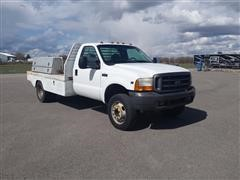 2001 Ford F-450 Xl Flatbed Service Truck