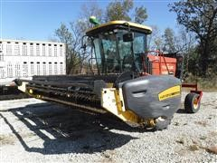 2003 New Holland HW320 Self-Propelled Mower/Conditioner