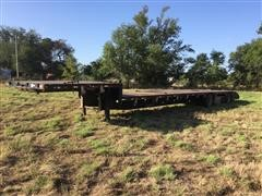 2000 Doonan Spread-Axle Drop Deck Trailer