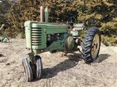 John Deere Model A 2WD Tractor