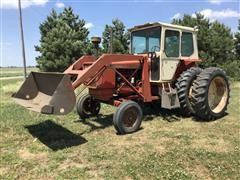 1968 Allis-Chalmers 190 XT 2WD Tractor w/ Loader