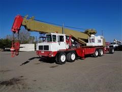 1974 Bucyrus Erie 45C Hydrocrane W/5 Axle Carrier