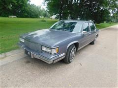 1987 Cadillac DeVille 4 Door Sedan
