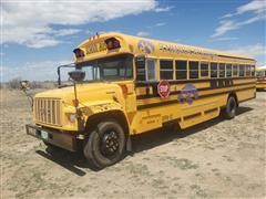 1999 GMC Blue Bird School Bus
