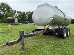 West-Mark T/A Stainless Steel Tanker Trailer