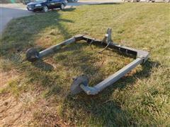 Besler 1000 3 Pt Hydraulic Hay Unroller