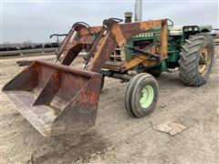 1968 Oliver 1850 2WD Tractor W/Loader