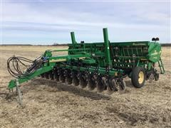 Great Plains 3PNG15 Native Grass Series II 15' Drill W/Center Pivot Hitch