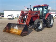 2004 Case IH MXU125 MFWD Tractor W/Loader
