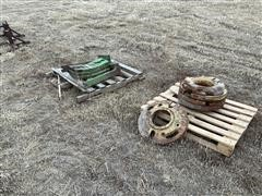 John Deere 4020 Front End & Wheel Weights