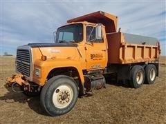 1987 Ford LT8000 T/A Dump Truck