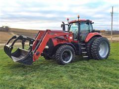 2009 Case IH 180 Magnum MFWD Tractor & L780 Loader W/Grapple