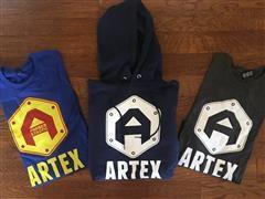 2- XL T-Shirts, 1- XL Sweatshirts