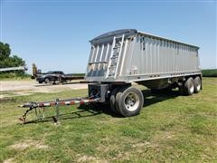 2014 Dakota 2600 AHT T/A Grain Hopper Trailer W/Dolly Front End