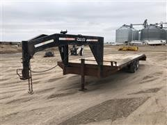2000 Temco T/A Flatbed Trailer