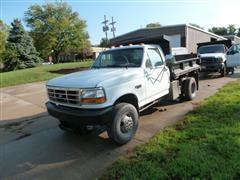 1996 Ford F350 XLT Dump Truck