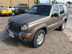2002 Jeep Liberty Limited Edition 4 Door SUV