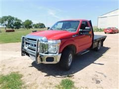 2012 Ford F250 Super Duty XLT Flatbed Pickup