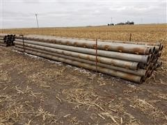 """Tex-Flow 8""""X30' Gated Pipe Irrigation Pipe"""
