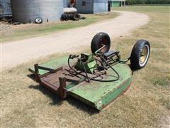 John Deere KO30 6' Mower W/Hydraulic John Deere Lift Cylinder