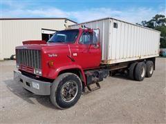 1987 GMC Top Kick T/A Grain Truck