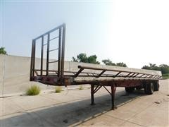 1996 Great Dane T/A Flatbed Trailer W/Bed Extensions