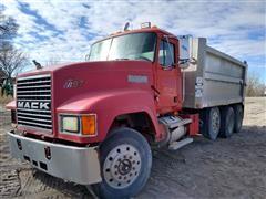 1997 Mack Gold Dog CH613 Tri/A Dump Truck